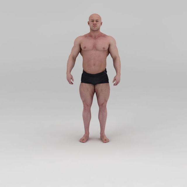 影视级健美先生肌肉男