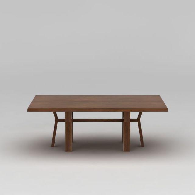 实木长餐桌