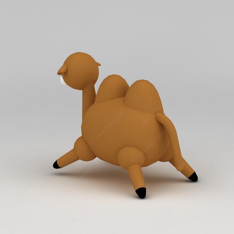 儿童玩具玩偶可爱小骆驼模型