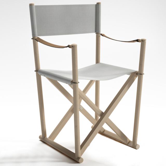 简约实木休闲折叠椅椅