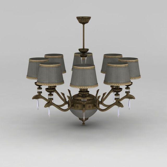 美式复古客厅吊灯
