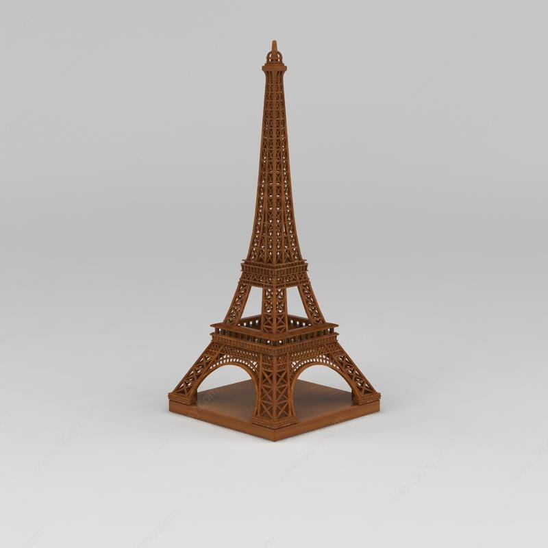 埃菲尔铁塔装饰摆件模型,埃菲尔铁塔装饰摆件模型下载