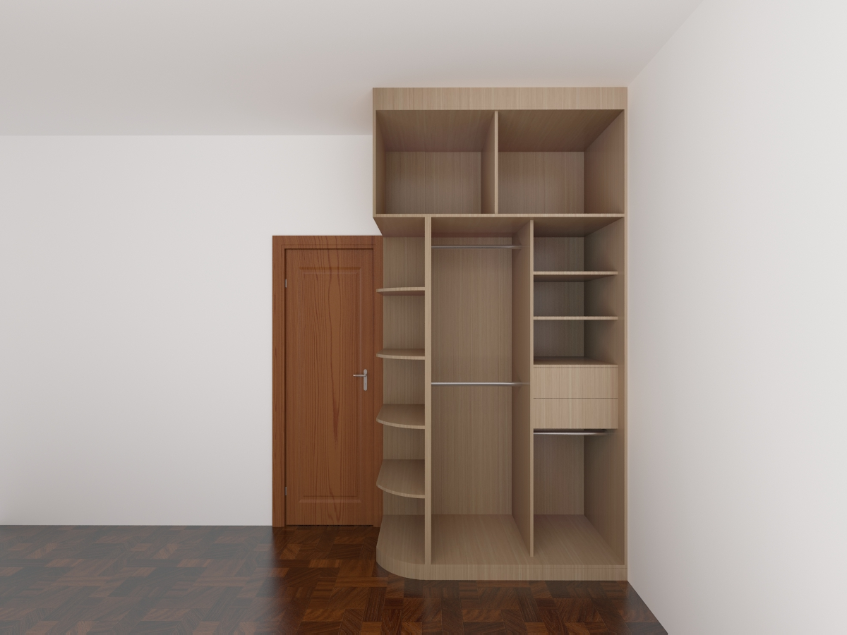 简约实木衣柜