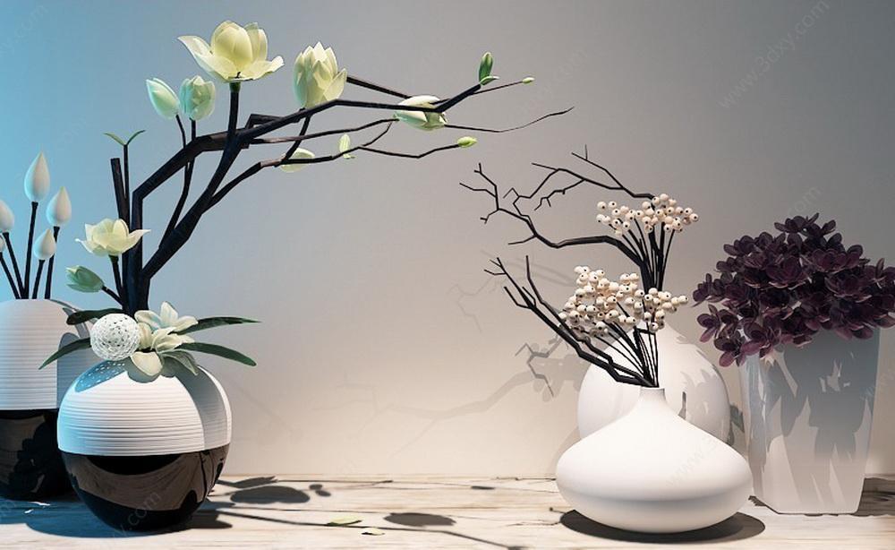 新中式花艺装饰品