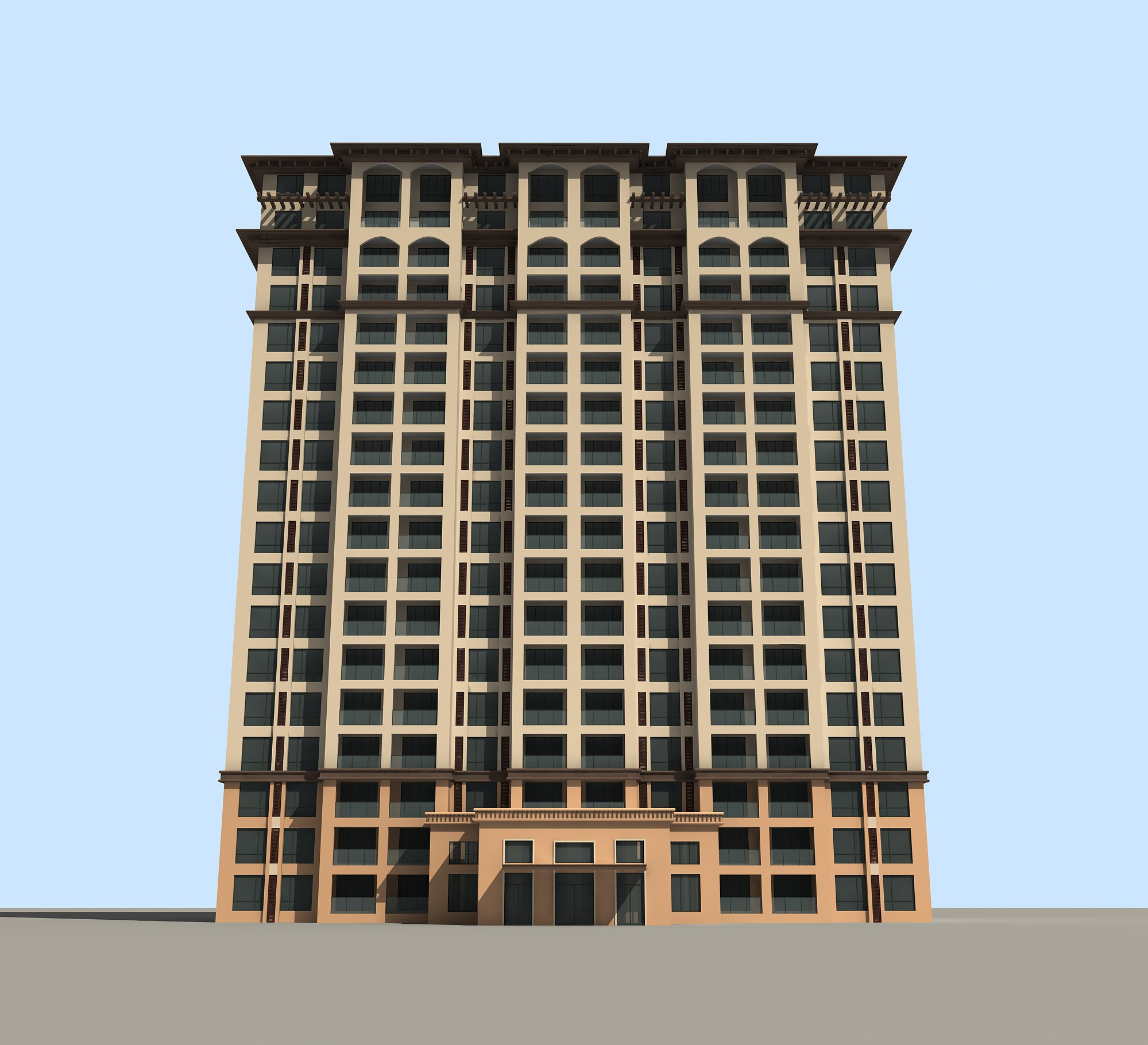 高层商务楼