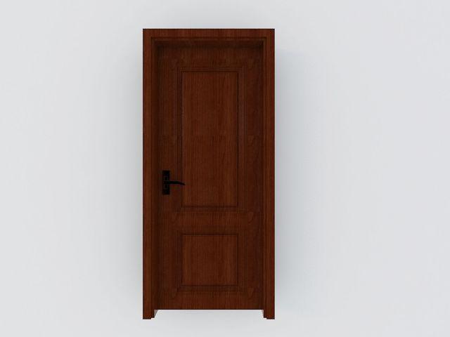 红色室内木门