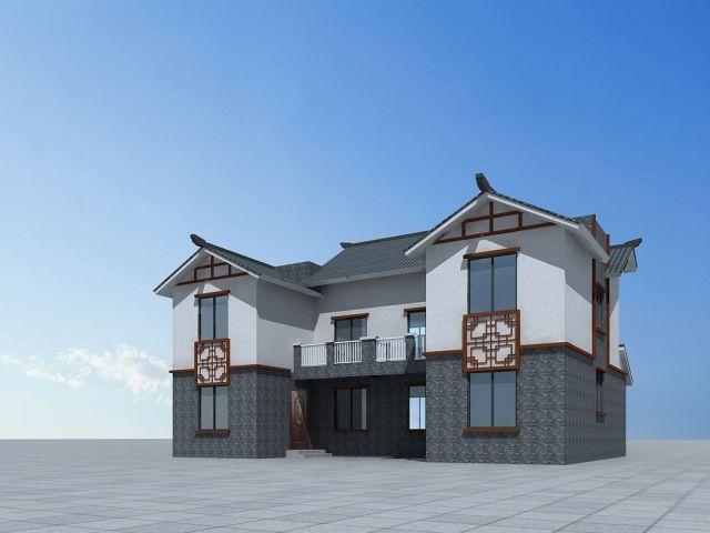 中式别墅房子