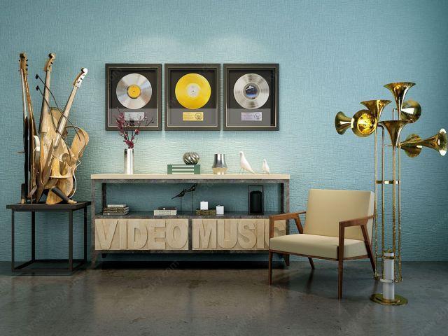 音樂主題家具飾品