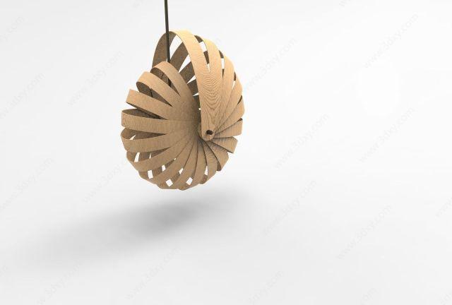室内蜗牛吊灯