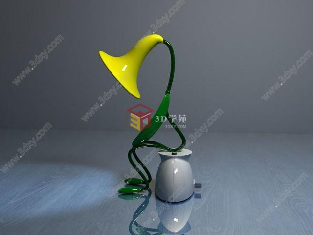 喇叭花台灯