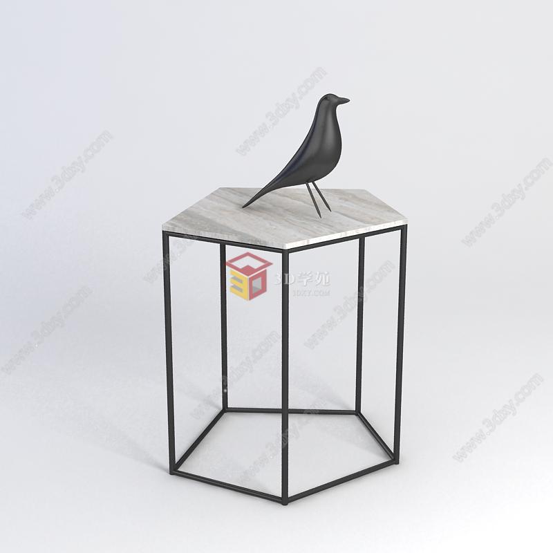 边几小鸟陈设品组合