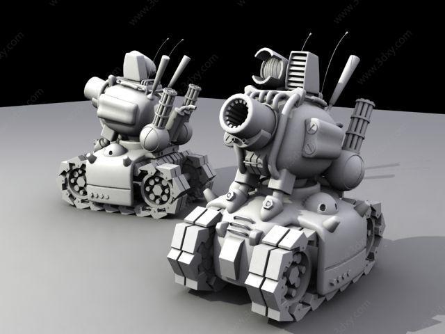 合金弹头中的小坦克