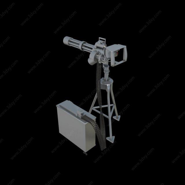 卡特林多管機槍
