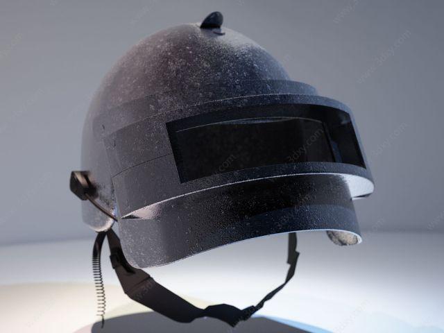 三级头盔_3d吃鸡三级头盔模型,吃鸡三级头盔3d模型下载_3D学苑