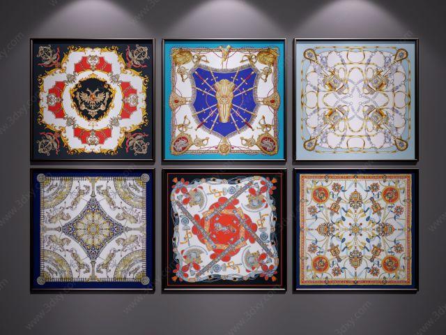 新中式装饰画挂画