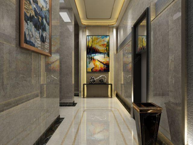 样板间电梯间