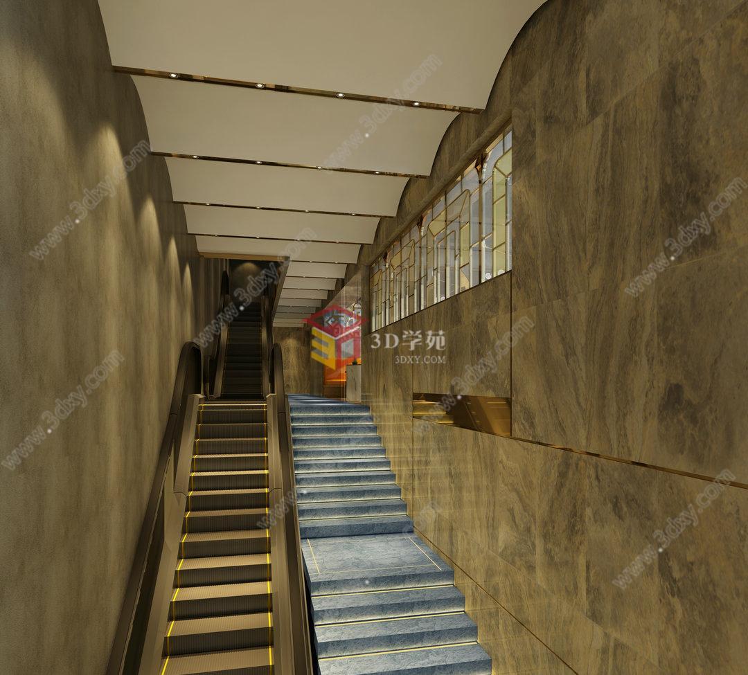 楼梯电梯工装模型