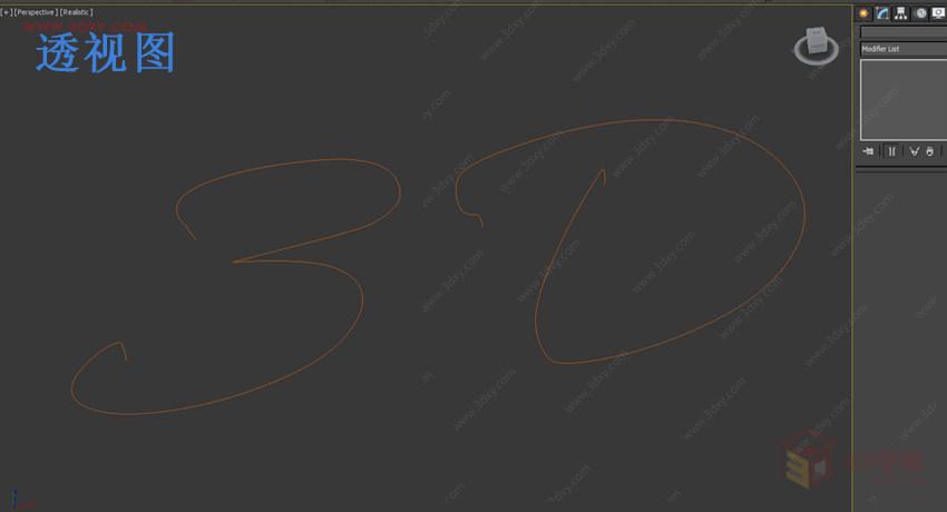 【材質技巧】3DsMAX結合Vray制作霓虹燈字