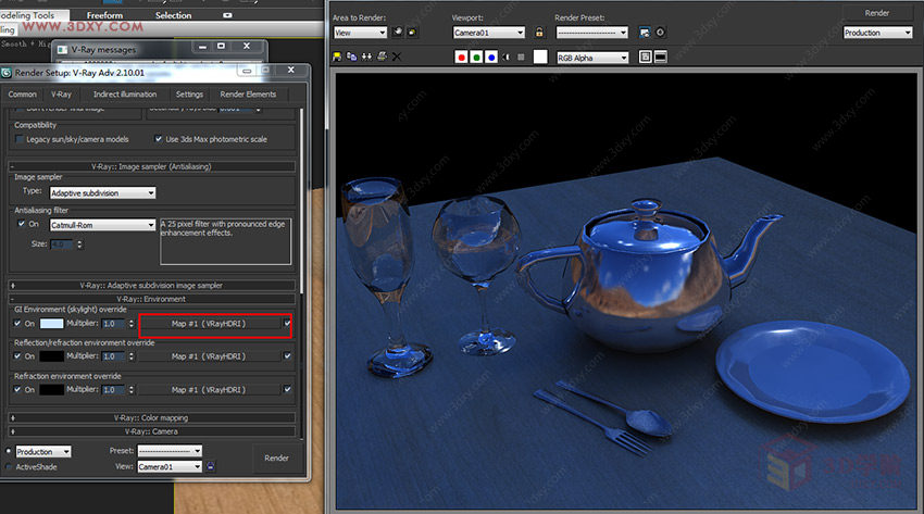 【渲染技巧】詳解HDR貼圖在VR中的使用