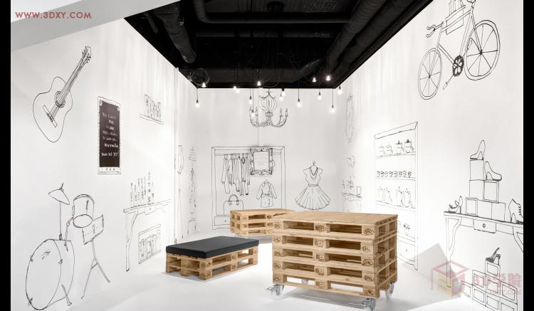 【设计教程】展示空间设计创意方法篇图片
