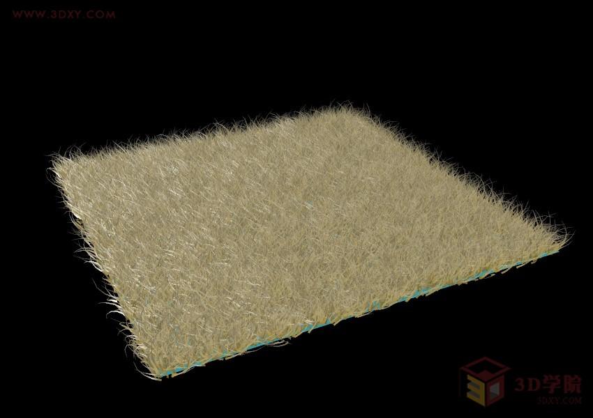 【建模技巧】地毯的制作方法
