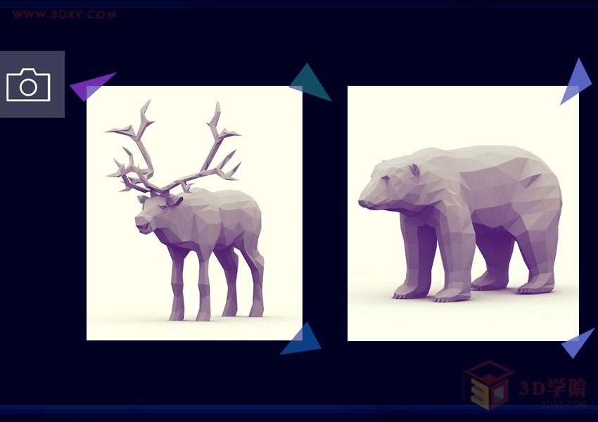 【建模技巧】用3D软件打造Low poly风格 3D打印模型——羊年艺术品