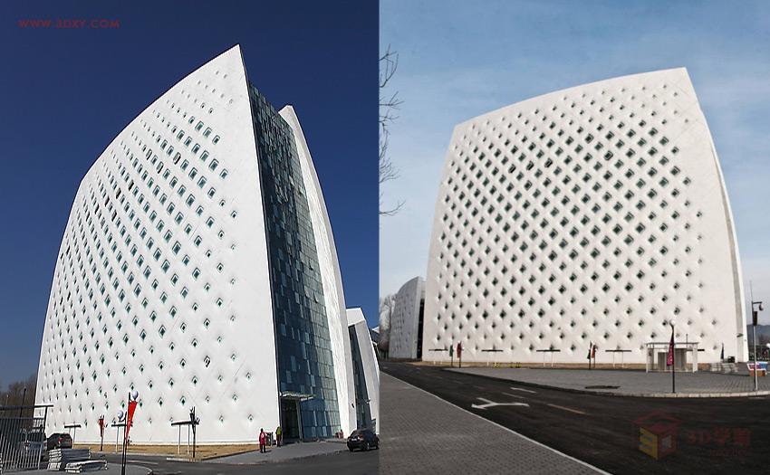 3dmax异形建筑_【建模技巧】异形建筑外立面的制作方法3Dmax教程