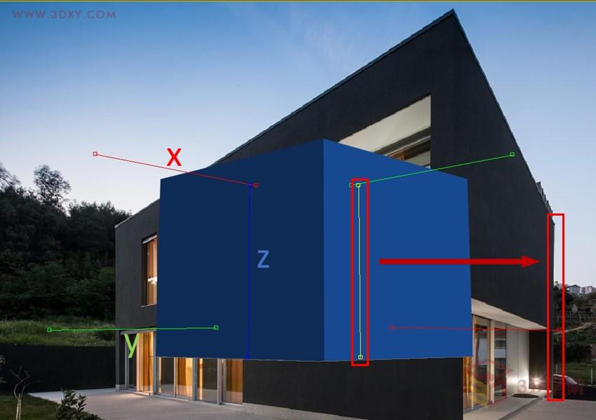 【建模技巧】3Dmax 透视匹配照片建模