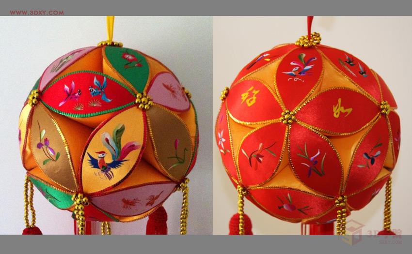 何用3DMAX制作简单的绣球模型