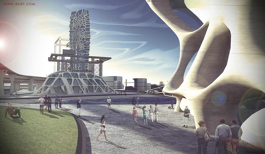【建模灵感】 参数化建筑建模设计分析