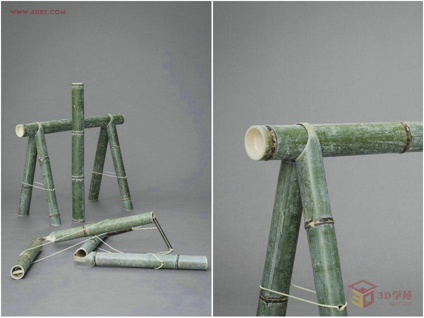 【设计灵感】创新竹家具系列Soba