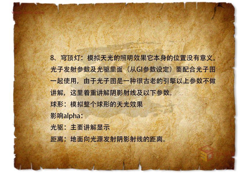 大侠教你学VRay第四期 vray灯光参数02