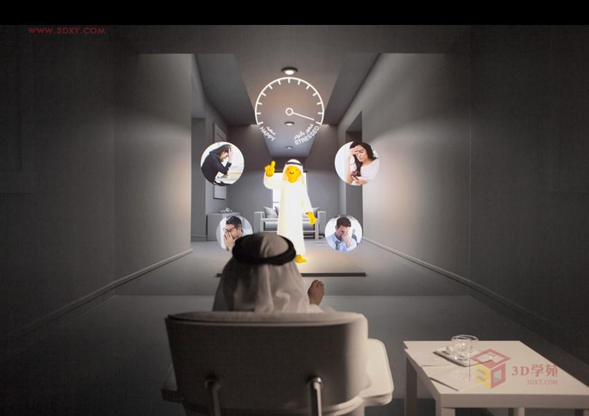 世界上最高的楼迪拜_【展示灵感】迪拜未来博物馆开启机器人改变世界之旅3Dmax教程