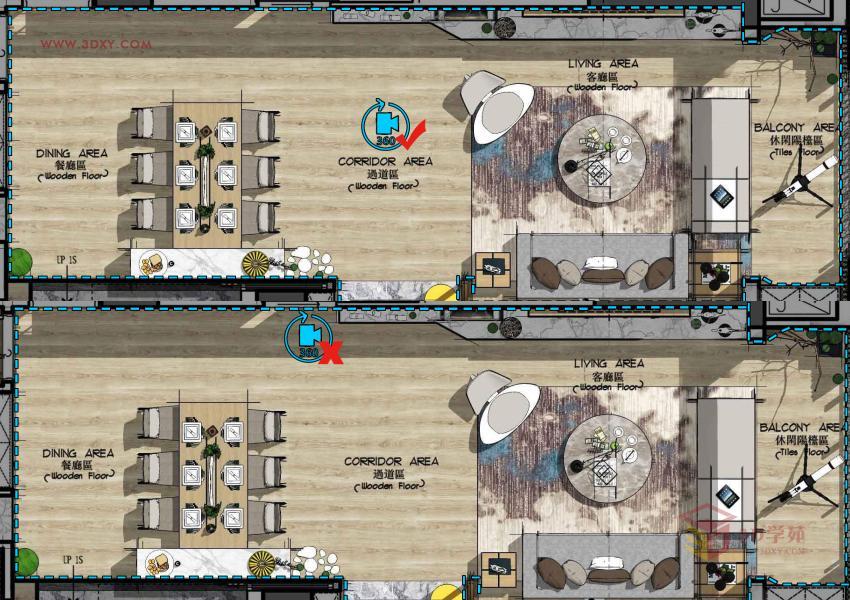【渲染技巧】3ds Max 全景图片渲染