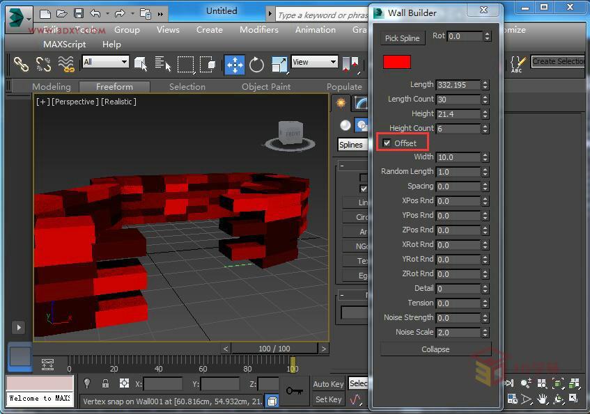 【3D教程】墙体插件