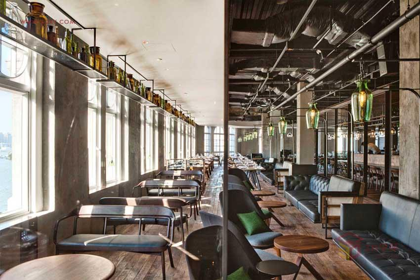 【创意分享】意大利Mercato海岸餐厅