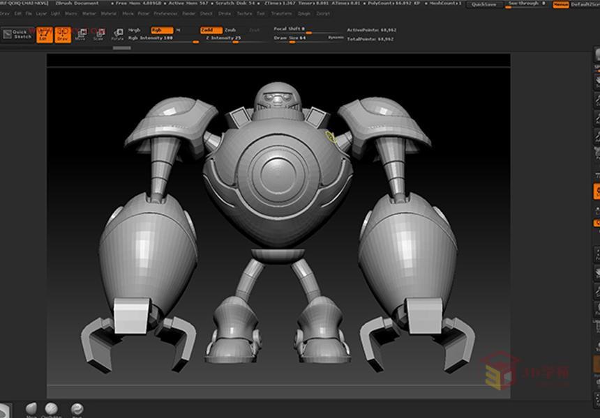 3dmax简单动画教程_lol苹果机器人制作3Dmax教程