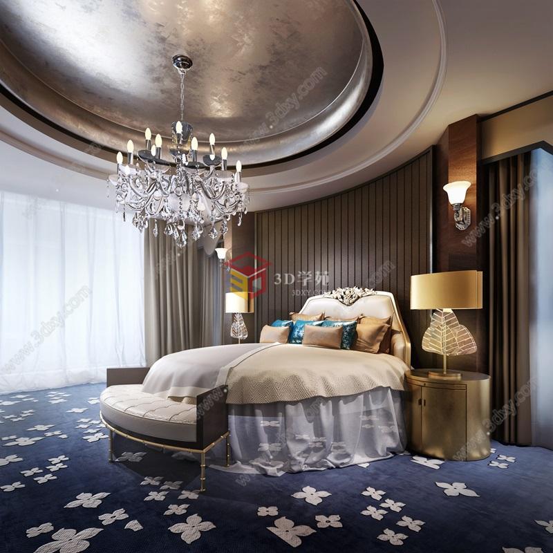 时尚欧式卧室