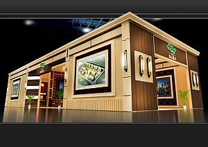 周山匯水新古典房產展廳展覽模型