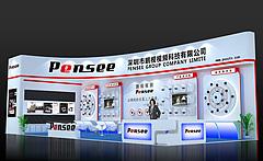 鹏视科技安防展厅展览模型