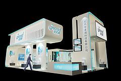 佳美迪卫浴展台展览模型