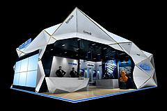 高斯衛浴展臺展覽模型