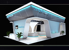 桑耐麗衛浴展廳展覽模型