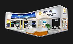 正国太阳能照明展台展览模型