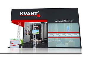KVANT 家電展臺展覽模型