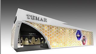 TEMAR服装展台展览模型