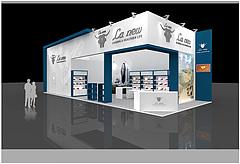 La New男士皮鞋展台展览模型