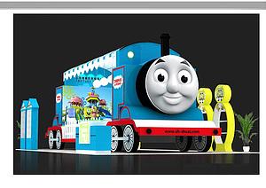 曙曦貿易卡通玩具展臺展覽模型