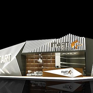 意达尔特沙发展厅3d模型