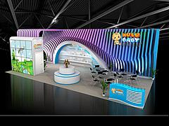 呼嚕寶貝時尚玩具展臺展覽模型